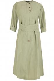 Tara Jarmon |  Dress Argile | green  | Picture 1