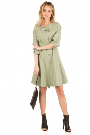 Tara Jarmon |  Dress Argile | green  | Picture 3