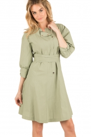 Tara Jarmon |  Dress Argile | green  | Picture 2