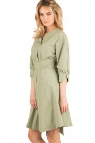 Tara Jarmon |  Dress Argile | green  | Picture 4