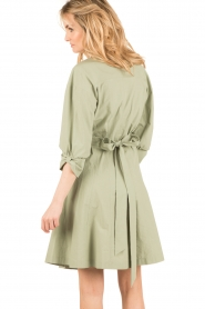 Tara Jarmon |  Dress Argile | green  | Picture 5
