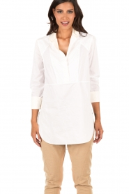 By Malene Birger | Blouse Ritah | wit  | Afbeelding 2