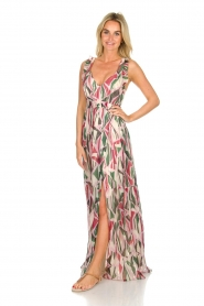ba&sh |  Silk maxi dress with print Betty | multi  | Picture 2