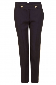 Tara Jarmon |  Cropped trousers Martine | dark blue  | Picture 1