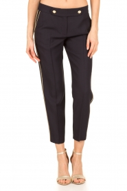 Tara Jarmon |  Cropped trousers Martine | dark blue  | Picture 2