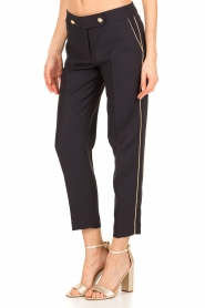 Tara Jarmon |  Cropped trousers Martine | dark blue  | Picture 4