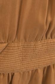 IKKS | Lace-up jurk Caro | camel  | Afbeelding 6