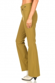D-ETOILES CASIOPE    Bootcut travelwear pants Vibrant   green    Picture 5