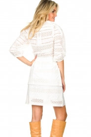 Dante 6 |  Ajour dress Paltrow | white  | Picture 6
