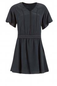 IKKS | Zijden jurk Charlot | blauw  | Afbeelding 1