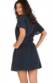 IKKS | Zijden jurk Charlot | blauw  | Afbeelding 5