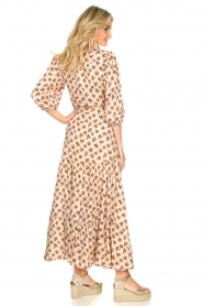 Dante 6 |  Printed maxi dress Poetic | brown  | Picture 5