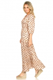 Dante 6 |  Printed maxi dress Poetic | brown  | Picture 4