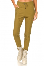D-ETOILES CASIOPE |  Travelwear pants Guet | green  | Picture 4