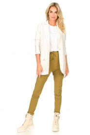 D-ETOILES CASIOPE |  Travelwear pants Guet | green  | Picture 3