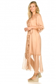 Dante 6 |  Ruffle maxi dress Royalty | nude  | Picture 5