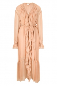 Dante 6 |  Ruffle maxi dress Royalty | nude  | Picture 1