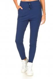 D-ETOILES CASIOPE |  Travelwear pants Guet | blue  | Picture 4