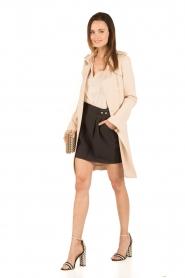 Tara Jarmon | Puffer sleeves blouse Leala | naturel  | Afbeelding 3