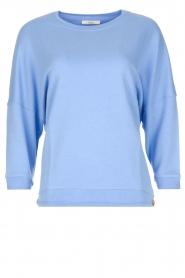 Sessun | Speelse trui Arleta | blauw  | Afbeelding 1