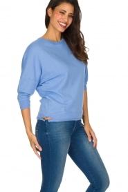 Sessun | Speelse trui Arleta | blauw  | Afbeelding 3