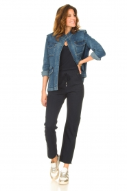 D-ETOILES CASIOPE |  Travelwear pants Bay | blue  | Picture 4