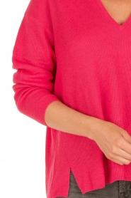 IKKS | Trui Framboise V-hals | roze  | Afbeelding 7