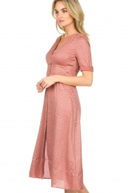 ba&sh |  Midi dress with dots Gala | pink  | Picture 4