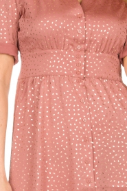 ba&sh |  Midi dress with dots Gala | pink  | Picture 5