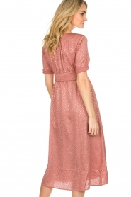 ba&sh |  Midi dress with dots Gala | pink  | Picture 6