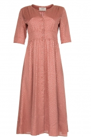 ba&sh |  Midi dress with dots Gala | pink  | Picture 1