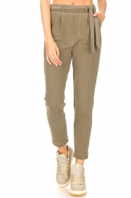 D-ETOILES CASIOPE |  Travelwear pants Billy | green  | Picture 4