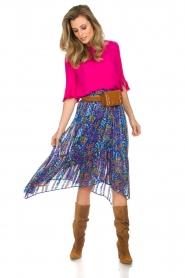 ba&sh |  Floral midi skirt Romeo | blue  | Picture 2