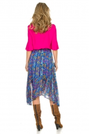 ba&sh |  Floral midi skirt Romeo | blue  | Picture 5