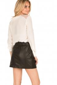 IKKS | Zijden blouse Onno | wit  | Afbeelding 4