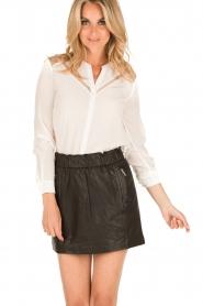 IKKS | Zijden blouse Onno | wit  | Afbeelding 2