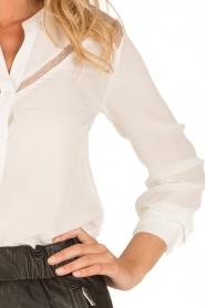 IKKS | Zijden blouse Onno | wit  | Afbeelding 6