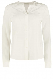 IKKS | Zijden blouse Onno | wit  | Afbeelding 1
