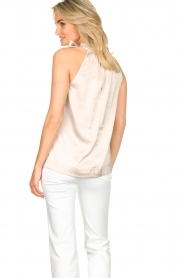 Dante 6 |  Satin halter top Florence | natural  | Picture 6