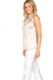 Dante 6 |  Satin halter top Florence | natural  | Picture 5