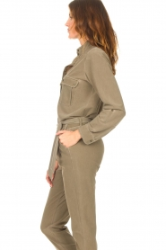 D-ETOILES CASIOPE |  Travelwear blouse Bahamas | green  | Picture 7