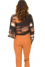 D-ETOILES CASIOPE |  Travelwear top with tie-dye Baleine | black  | Picture 7