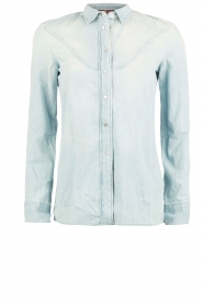 Denim blouse Rodeo | light blauw