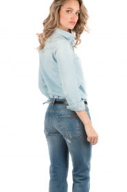 7 For All Mankind | Denim blouse Rodeo | light blauw   | Afbeelding 5
