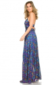 ba&sh |  Maxi dress Rosy | blue  | Picture 3