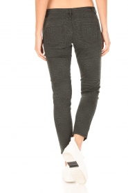 IKKS |  Jeans with leopard print Verle | grey   | Picture 5
