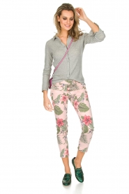 MASONS |  Trousers New York Slim | Pink  | Picture 3
