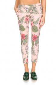 MASONS | Pantalon New York Slim | Roze  | Afbeelding 2