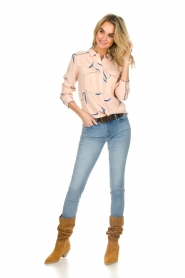 ba&sh |  Printed blouse Terry | nude  | Picture 3