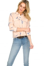 ba&sh |  Printed blouse Terry | nude  | Picture 4